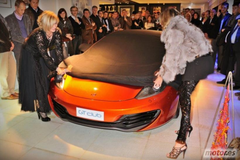 McLaren MP4 12C: Presentación en GT-Club Barcelona