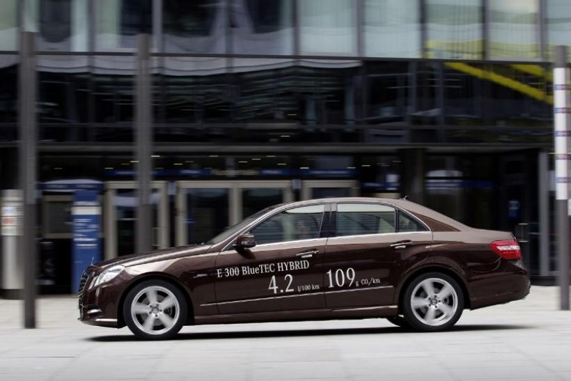 Mercedes-Benz confirma los Clase E300 BlueTEC y E400 Hybrid