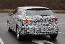 Nuevas fotos espía del Audi A3 2012/2013. Esta vez con detalles de su trasera
