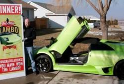 Gana un Lamborghini Murcielago y lo choca seis horas despues