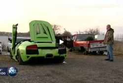 Así quedó el Lamborghini Murcielago Roadster del amigo americano
