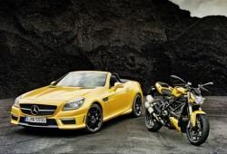 Mercedes fortalece su sociedad con Ducati