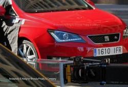 Nuevas fotos espía del SEAT Ibiza 2012