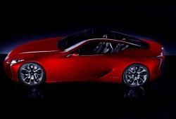 Poco se ha hecho esperar: Lexus LF-LC en su primera imagen oficial