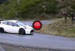 Peter Solberg completa los primeros tests sobre el Ford Fiesta RS WRC