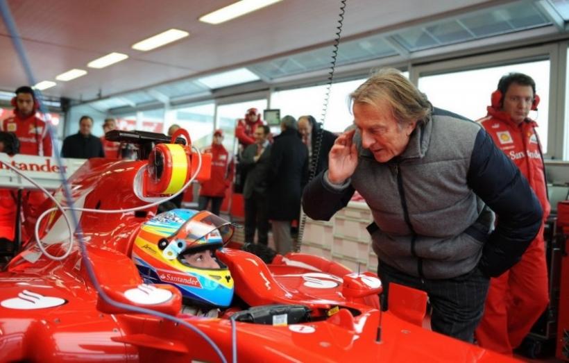 """Montezemolo alaba a Vettel pero """"no cambiaría a Alonso por nadie"""""""