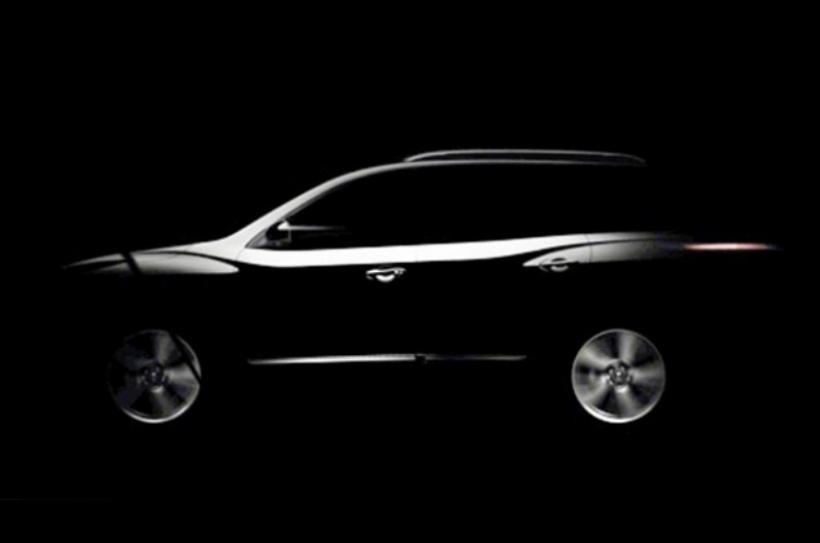 Nissan anticipa la nueva Pathfinder