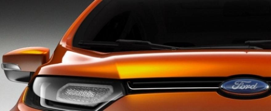 Primer teaser del SUV pequeño de Ford