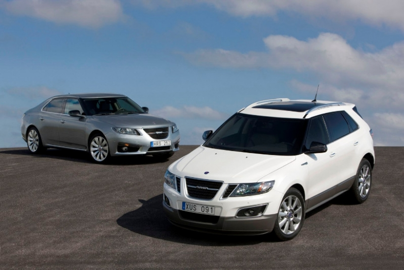 Los Saab 9-5 y 9-4X obtienen el Top Safety Pick 2012