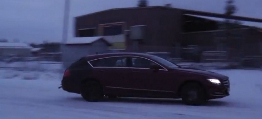 Vídeo espía: Mercedes-Benz CLS Shooting Brake