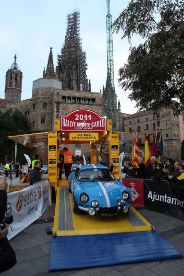 El Rallye Monte-Carlo Histórico saldrá desde Barcelona por 10ª vez consecutiva