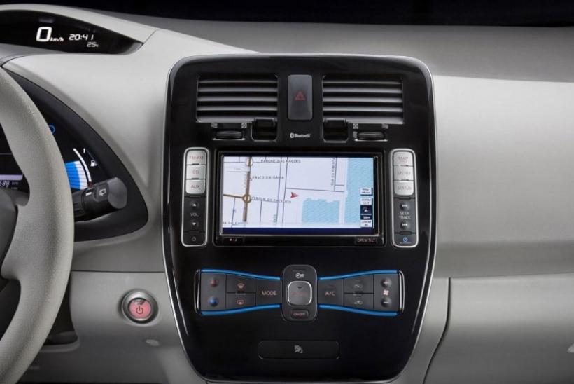Así son las funciones del navegador del Nissan Leaf