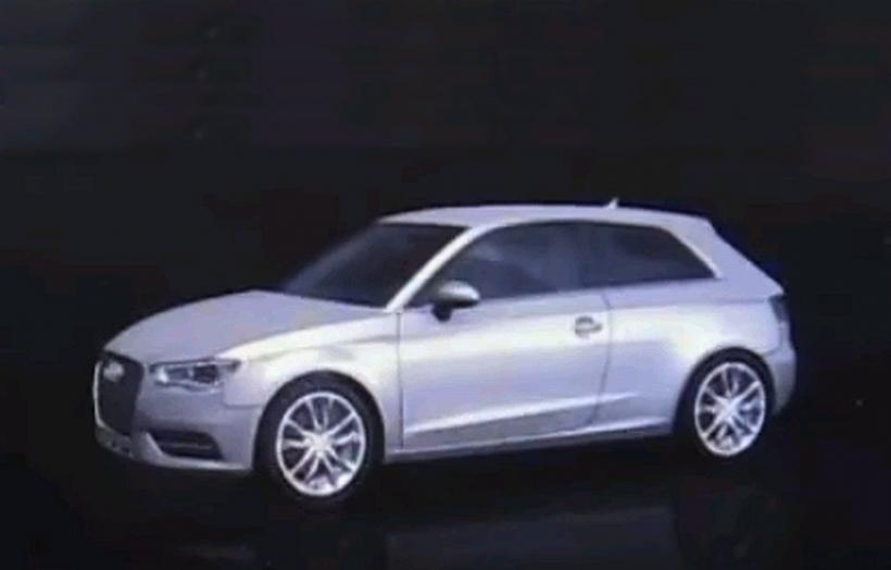 Audi muestra el A3 2012 a través de la pantalla del nuevo MMI