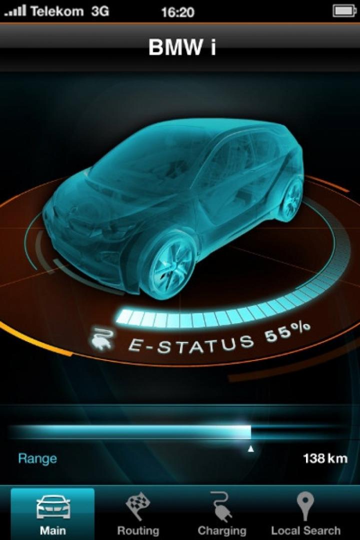 BMW anticipa su aplicación para interactuar con el nuevo i3