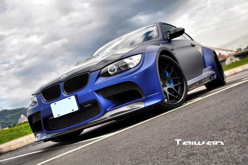El BMW M3 muestra su lado más agresivo