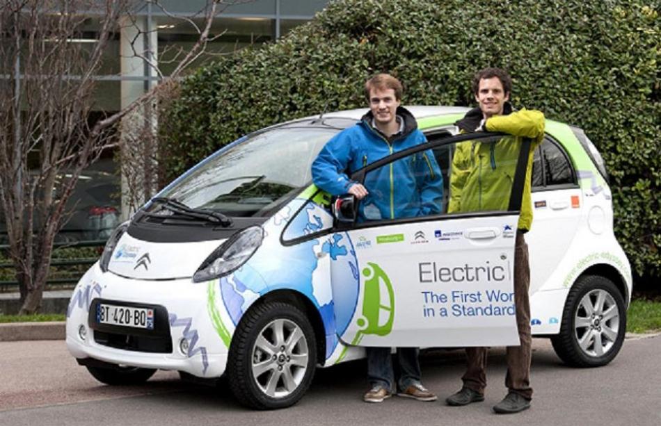 Citroën C-Zero vuelta al mundo Odisea Eléctrica