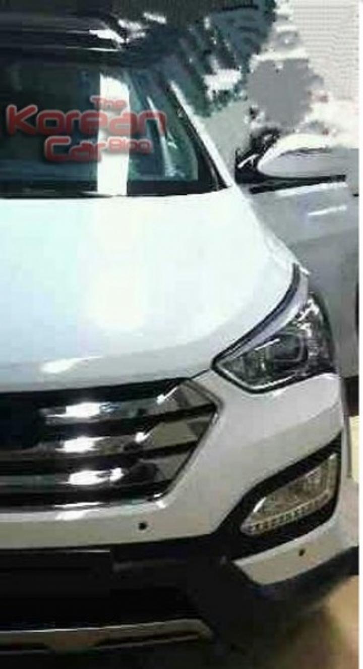 Se filtran fotos del Hyundai iX45/Santa Fe sin camuflaje