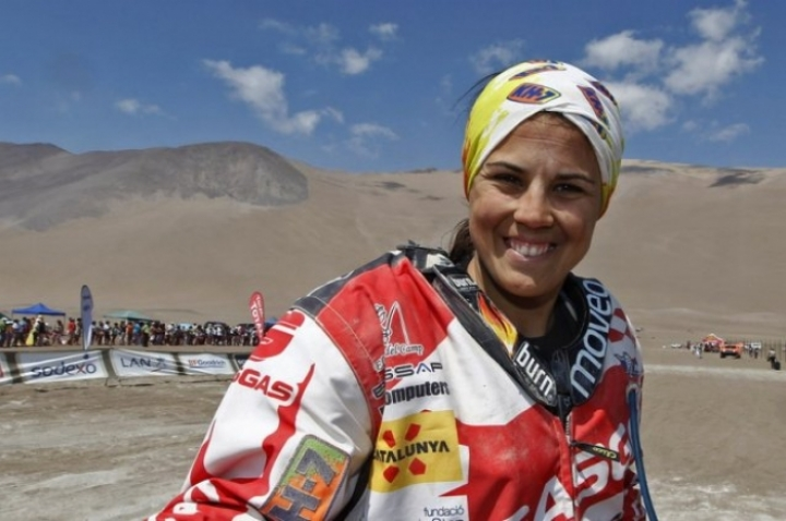 Laia Sanz se hace con la categoría femenina