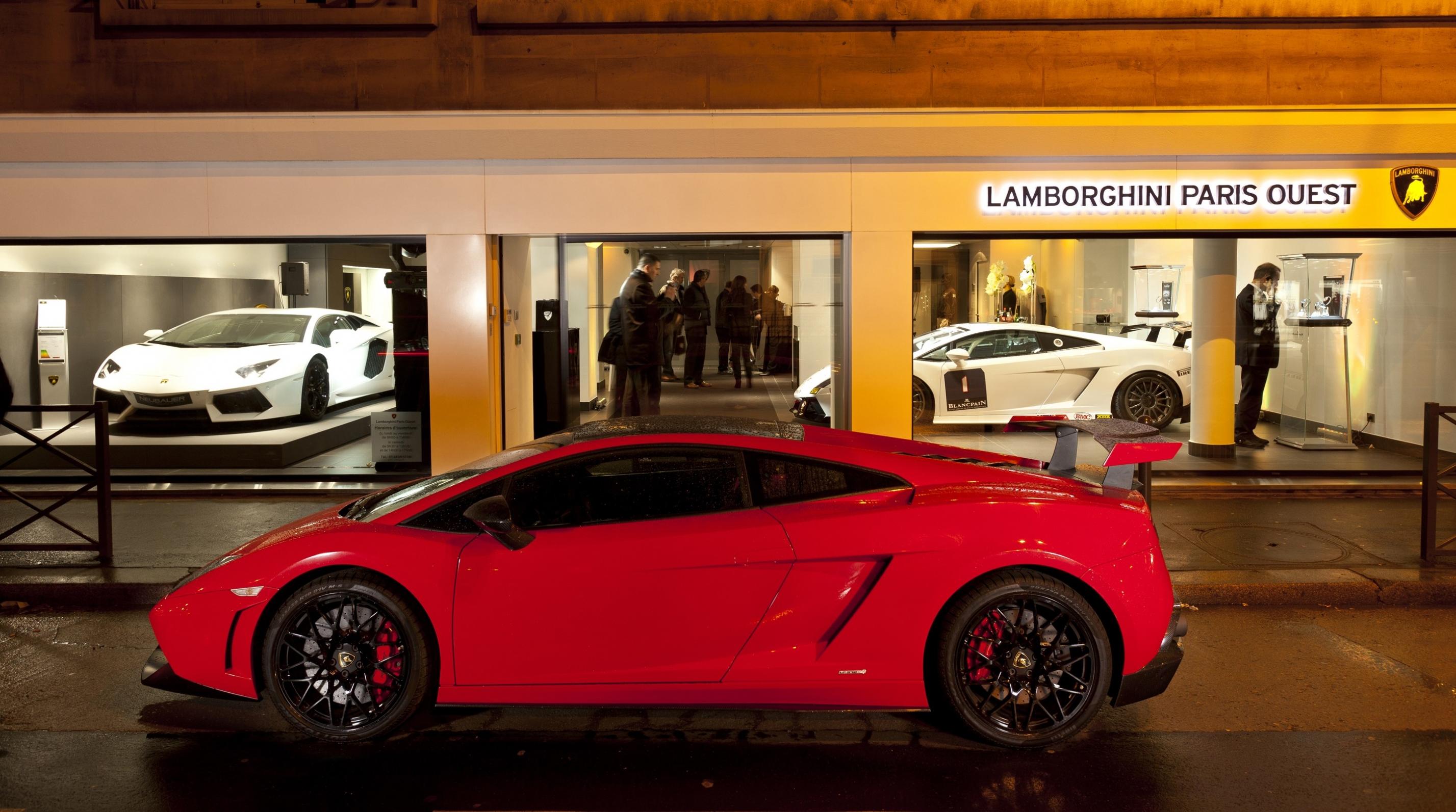 Nuevo récord de ventas para Lamborghini