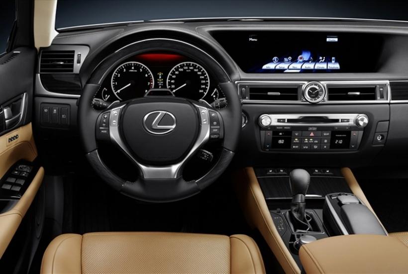 El Lexus GS 450h dispondrá de la pantalla multimedia más grande del mercado