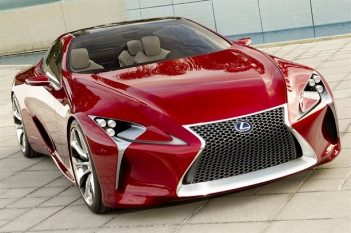 Nuevas fotos del Lexus LF-LC Concept