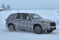 Vídeo espía: BMW X5 2013 (F15) en pruebas de invierno
