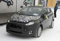 Fotos espía: Ford Fiesta restyling