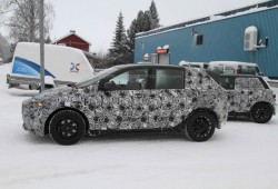 Vemos de nuevo el BMW Serie 1 GT en pruebas de invierno