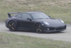 Fotos espías del nuevo Porsche 911 GT3