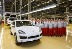 Se fabrica la unidad 100.000 del Porsche Cayenne de segunda generación