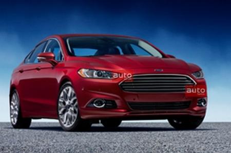 Nuevas imágenes filtradas del Ford Mondeo/Fusion 2012