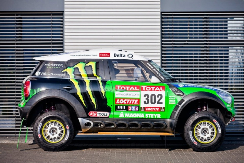 Así es el Mini Countryman que ganó el Rally Dakar 2012