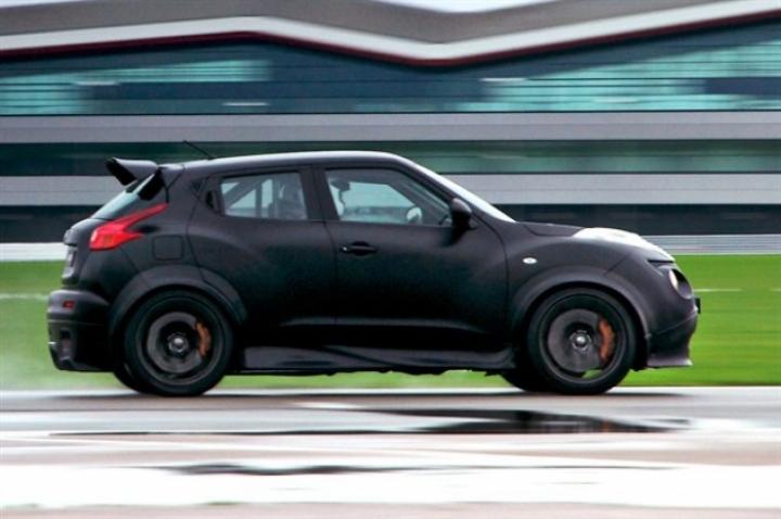 Nissan da a conocer las prestaciones del Juke-R