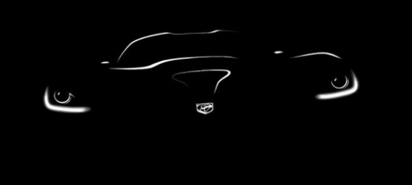 Primer teaser del SRT Viper 2013