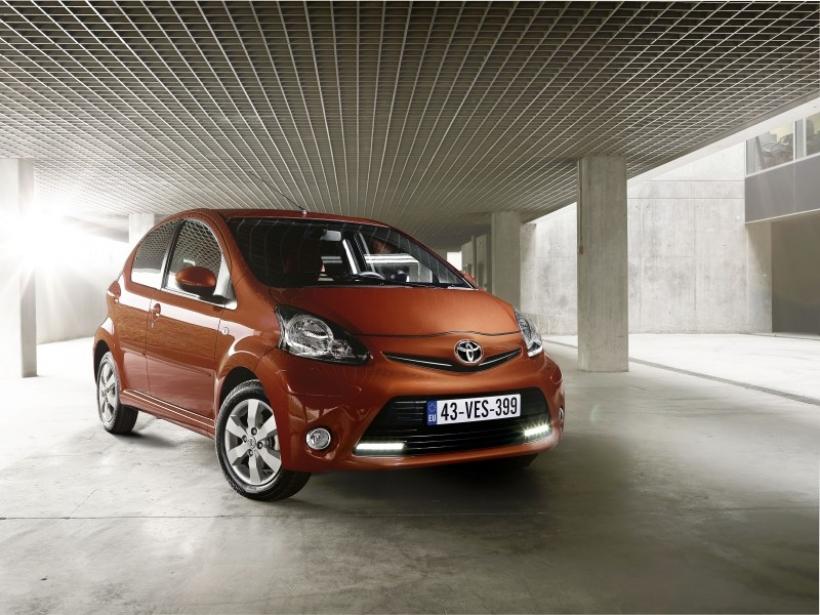 El Toyota Aygo también se renueva para 2012