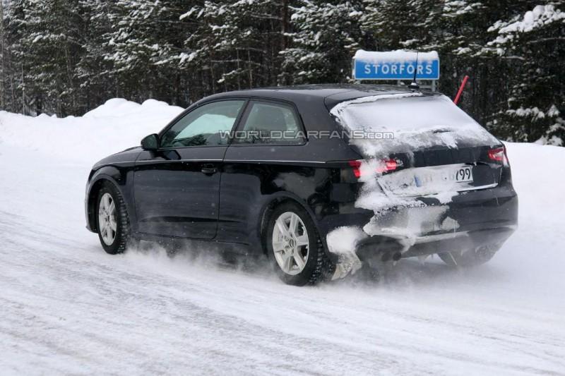Fotos espía: El Audi A3 2012 se destapa
