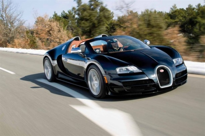 Bugatti prepara el descapotable más potente de la historia
