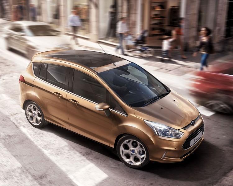 El Ford B-Max debutará en el Mobile World Congress de Barcelona