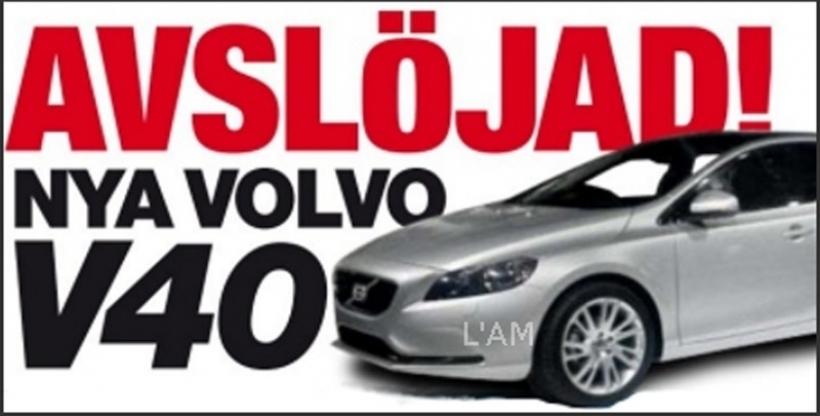 Volvo V40 pillado sin nada de camufaje