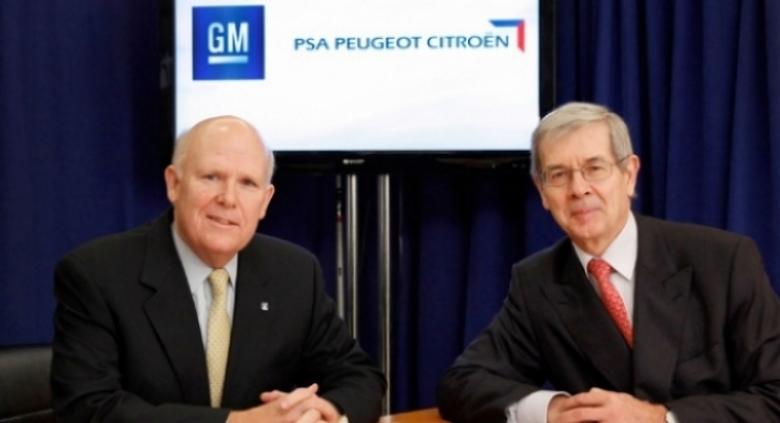 General Motors une fuerzas con el grupo PSA Peugeot Citroën