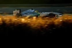 Mercedes rodó ayer en Barcelona un test privado