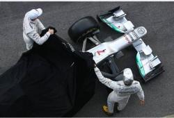 Presentación del W03 - Mercedes AMG Petronas
