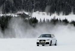 Audi A1 Quattro muestra sus virtudes sobre la nieve