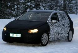 Fotos espía: Volkswagen Golf VII en pruebas de invierno