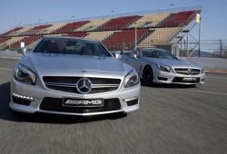 Mercedes presentó el nuevo SL63 AMG en Montmeló