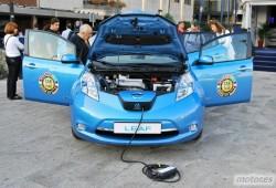 Toma de contacto Nissan Leaf. 100% eléctrico, 100% ecológico