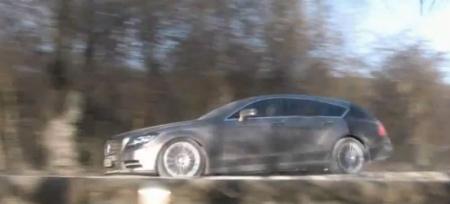El Mercedes-Benz CLS Shooting Break espiado en vídeo