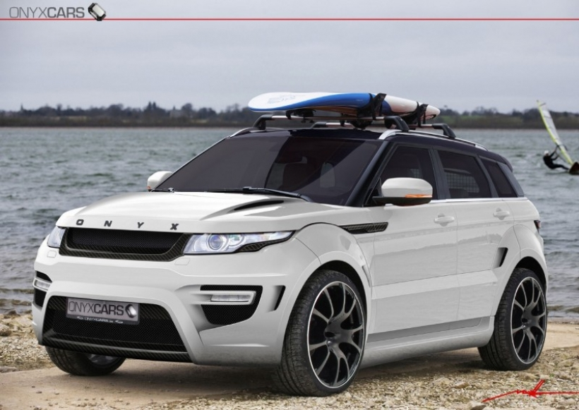 Onyx Range Rover Evoque Rouge Edition: radical