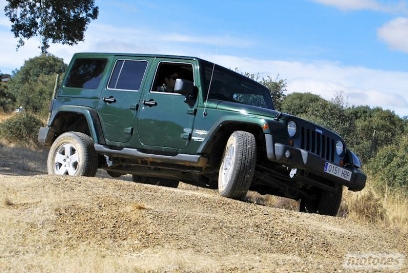 Toma de contacto Jeep Wrangler. Auténtico