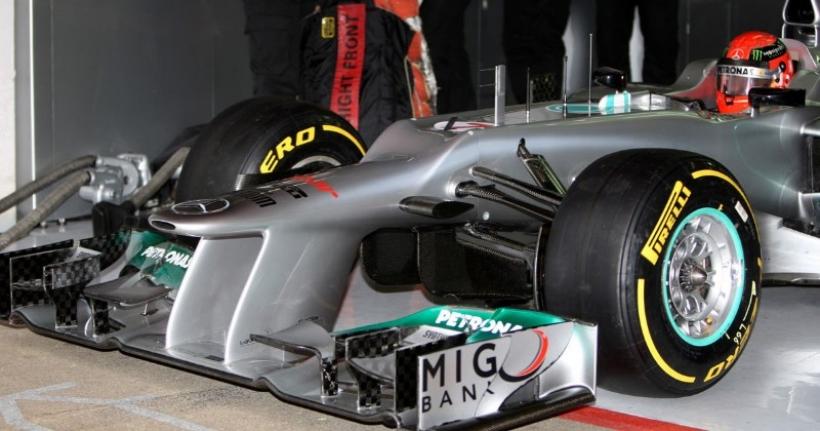 El conducto F de Mercedes AMG Petronas es legal